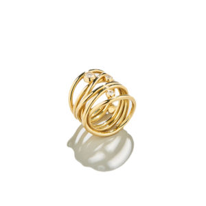 Dolly Boucoyannis Whirling Wires Chevalier Ring