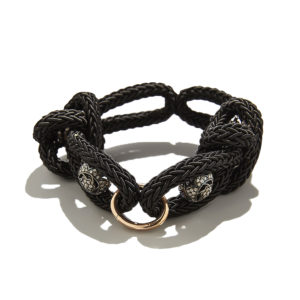 Iced Diamonds Lace Bracelet