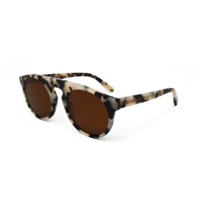 We Are Eyes Atom Creme Tortoise Sunglasses