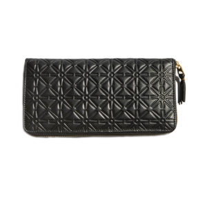 Comme des Garcons CDG Classic Embossed Patern a Wallet
