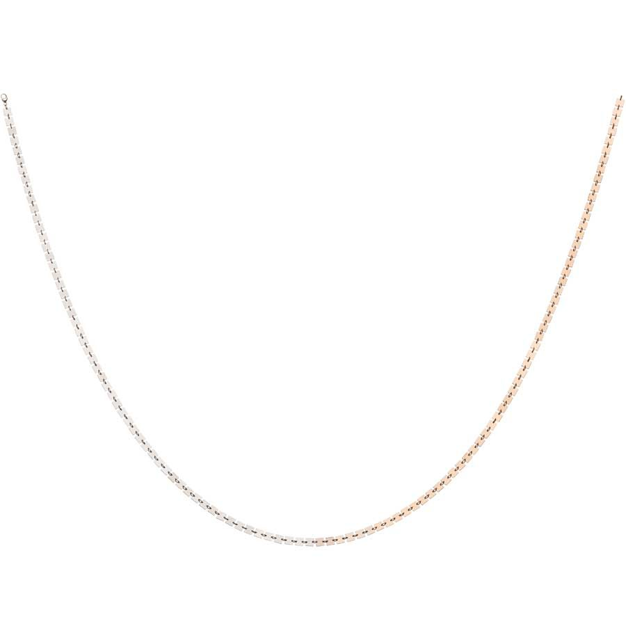 Lilian von Trapp Double Line Polished Necklace K1801B