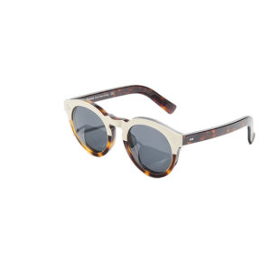 Illesteva Leonard II Round Frame Sunglasses