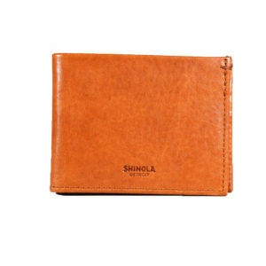 Shinola Classic Bifold Wallet Bourbon