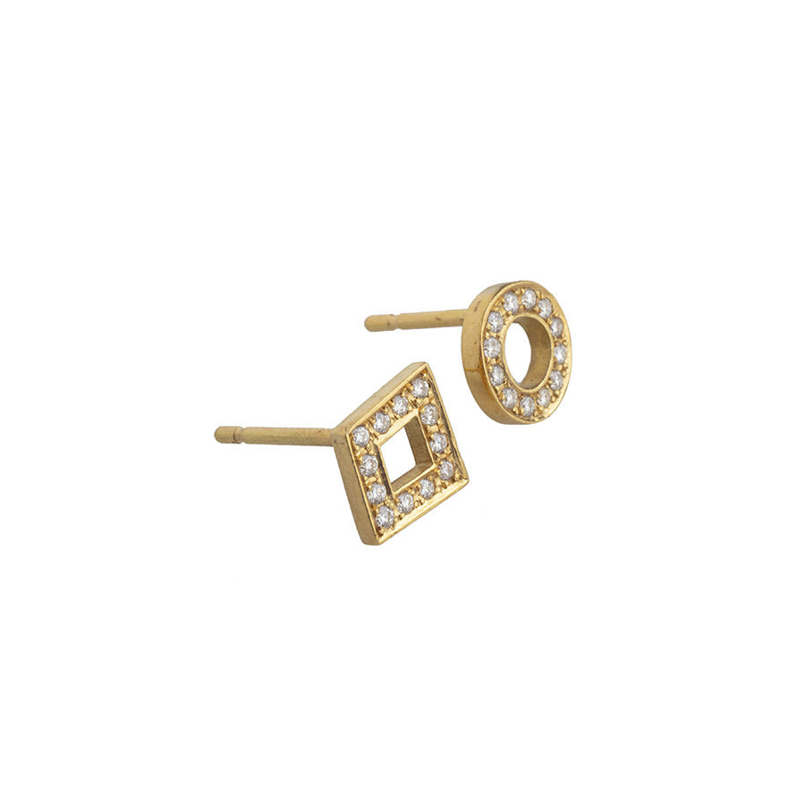 Dolly Boucoyannis Diamonds Single Earring DBE28 and DBE29