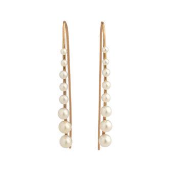 Sophia Kokosalaki Meteorfall Antique Earrings SK3S18RG03EA05