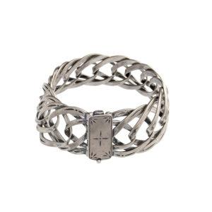 Katerina Koukos Silver Chain Bracelet