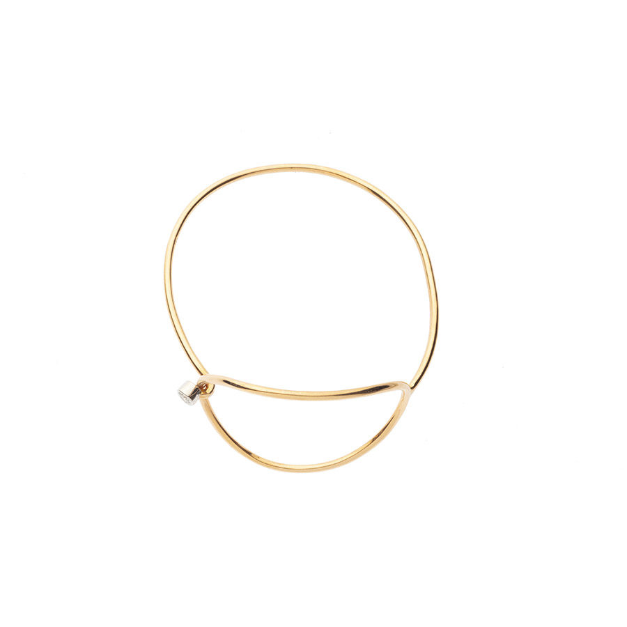 Orofasma Wrist Bone Diamond Bracelet ORbrBTH53