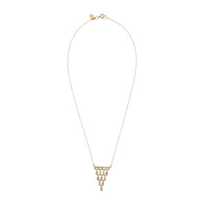 Oona Baguette Cascade Necklace PH09.118