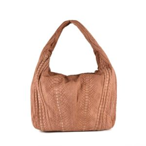 Wings Amata Stonewashed Antique Salmon Shoulder Bag