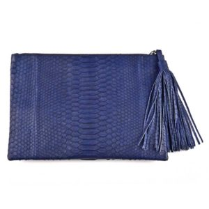 Wings Nora Large Aegean Blue Clutch