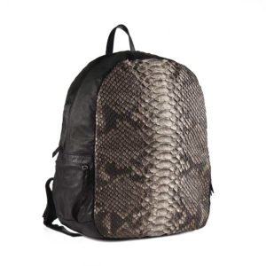 Wings Leather Python Backpack Travel