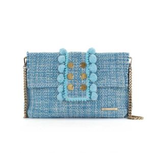 Kooreloo Epiphany Pouch Capulet Aquamarine Fabric Shoulder Bag KRL.7148.80