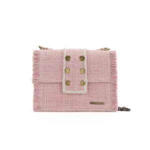 Kooreloo Epiphany Maxima Baby Pink Fabric Shoulder Bag KRL.1100.52