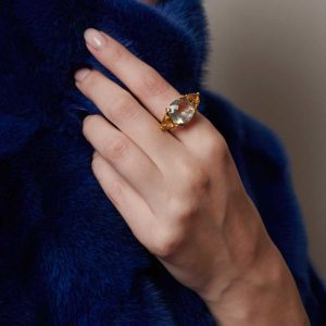 Dolly Boucoyannis Triple Ring on model DBR88