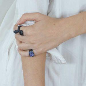 Minas Design by Minas Mamba Ring B on model