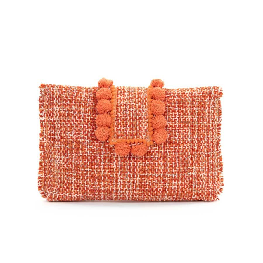 Kooreloo Epiphany Pouch Capulet Pumpkin fabric Shoulder Bag KRL.7148.81