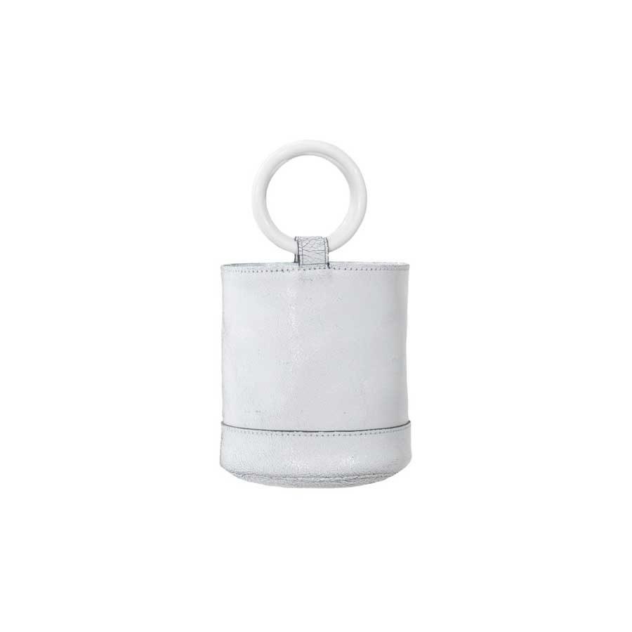 Simon Miller BONSAI BAG 15 cm White Crackle SM.S8017028