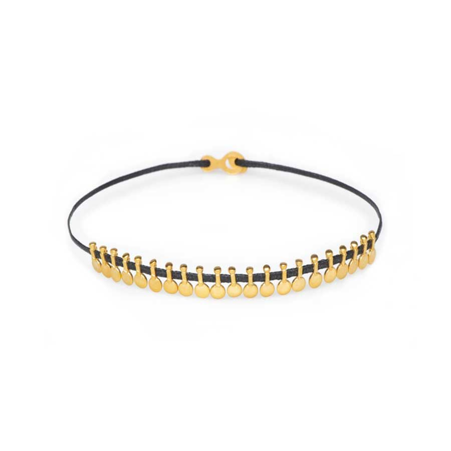 Christiana Kafa Yellow Gold Plated Bracelet CHK0219.B.SG