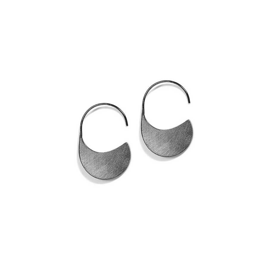 Christiana Kafa Black Plated Earrings CHK0719.E.SB