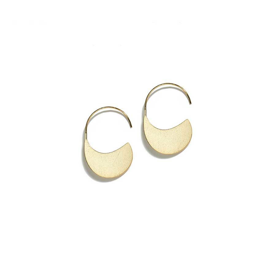 Christiana Kafa Yellow Gold Plated Earrings CHK0719.E.SG