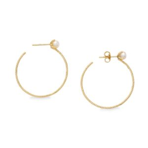 Penelope Cypria Hoop Earrings PFJ.CYE003.YG