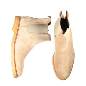 Common Projects Chelsea Suede Beige Boots 1851