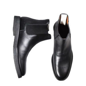 Commo Projects Chelsea Leather Boots Black 3779