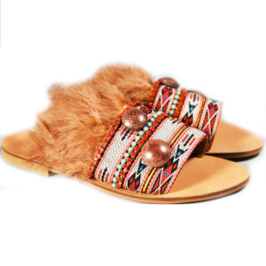Elina Linardaki Eagle Dance Sandals