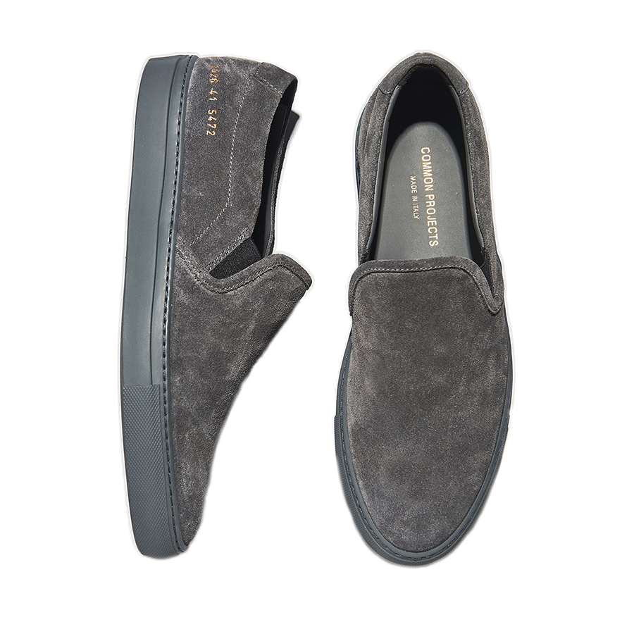 a1ee3f5496da Slip-On Suede Sneakers - i-D Concept Stores