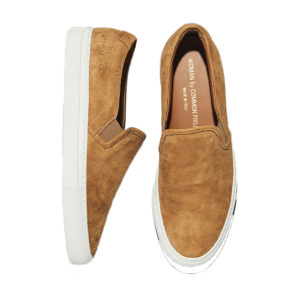 Common Projects Slip On Suede Tobacco Sneakers