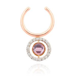 Marie Mas Swiveling Single Clip Earring ESSPGAT11