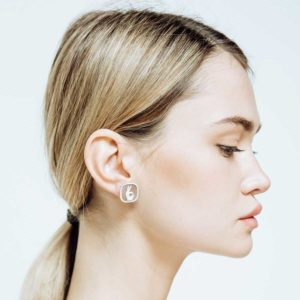 Missbach by Nadia Doppi Standard Studs on model