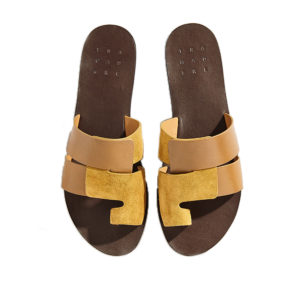 Trademark The Cadiz Sandal Dark Khaki