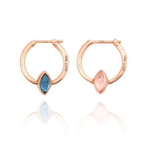 Marie Mas Swinging Mini Hoop Earrings