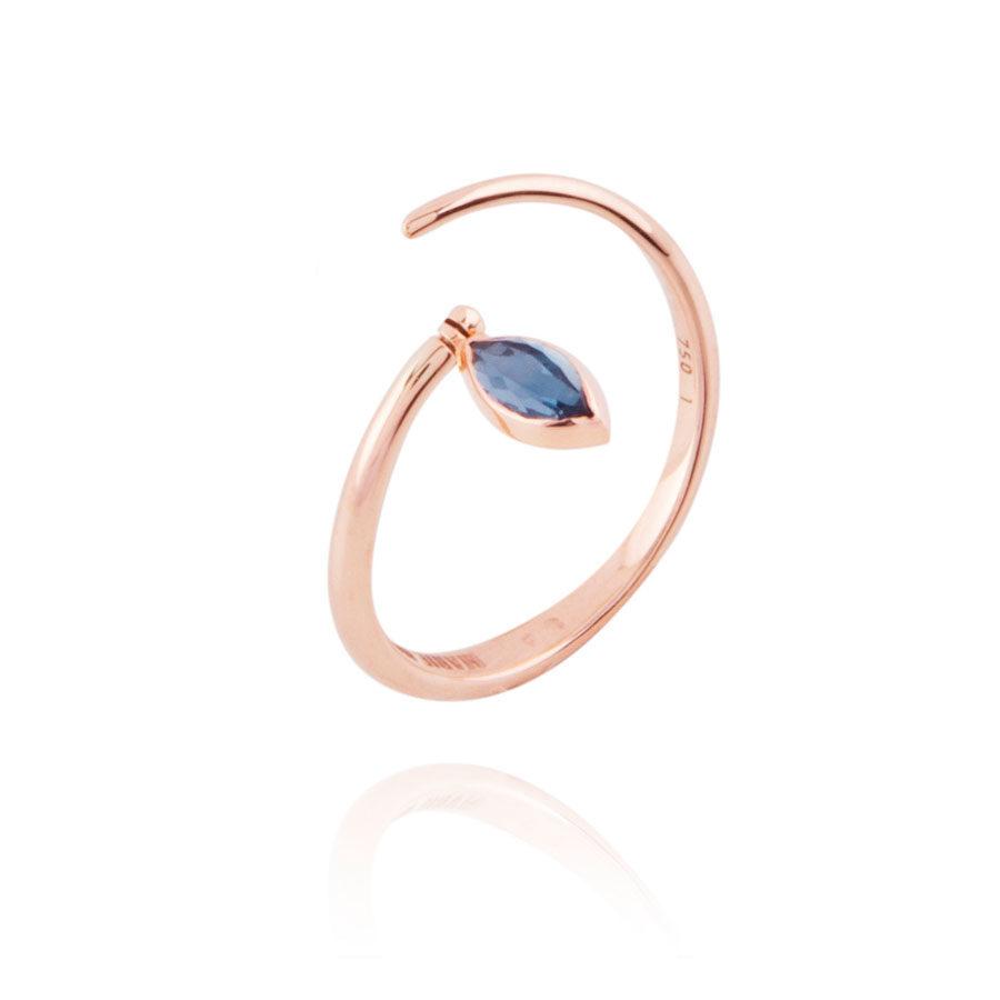 Marie Mas Swinging Spiral Ring