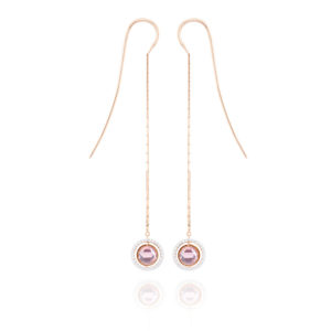 Marie Mas Marie Mas Swiveling Long Earrings