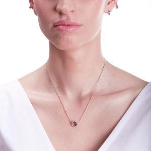Marie Mas Swiveling Necklace S on model
