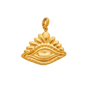Christina Alexiou Evil Eye Pendant PEYG016