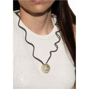 Aelia Kinesis Movement Necklace FNS018S on model