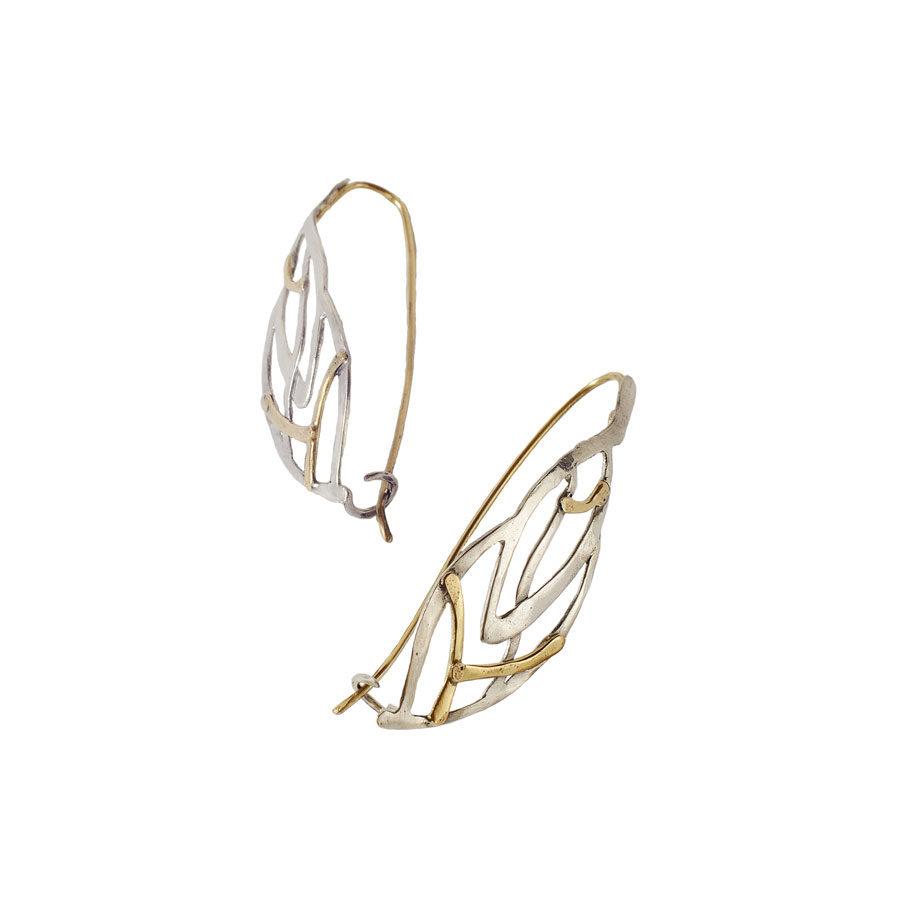 Juliette Polac Leaves Earrings JPEAR20