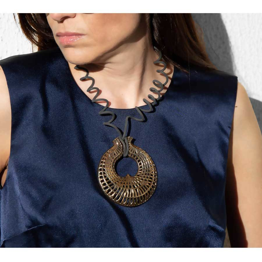 Aelia Kinesis Amalthea Necklace FNB015B.P.C
