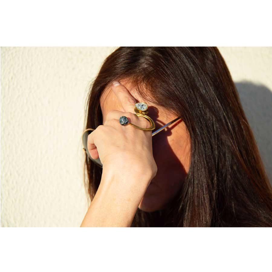 Aelia Kinesis Strawberry Field Ring FRB008B.E