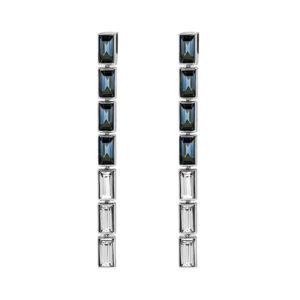 Atelier Swarovski Fluid Azzurro Skinny Long Drop Earrings SW5490091