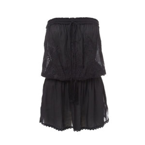 Fruley Bandeau Short Black Dress MOS18FRULEY