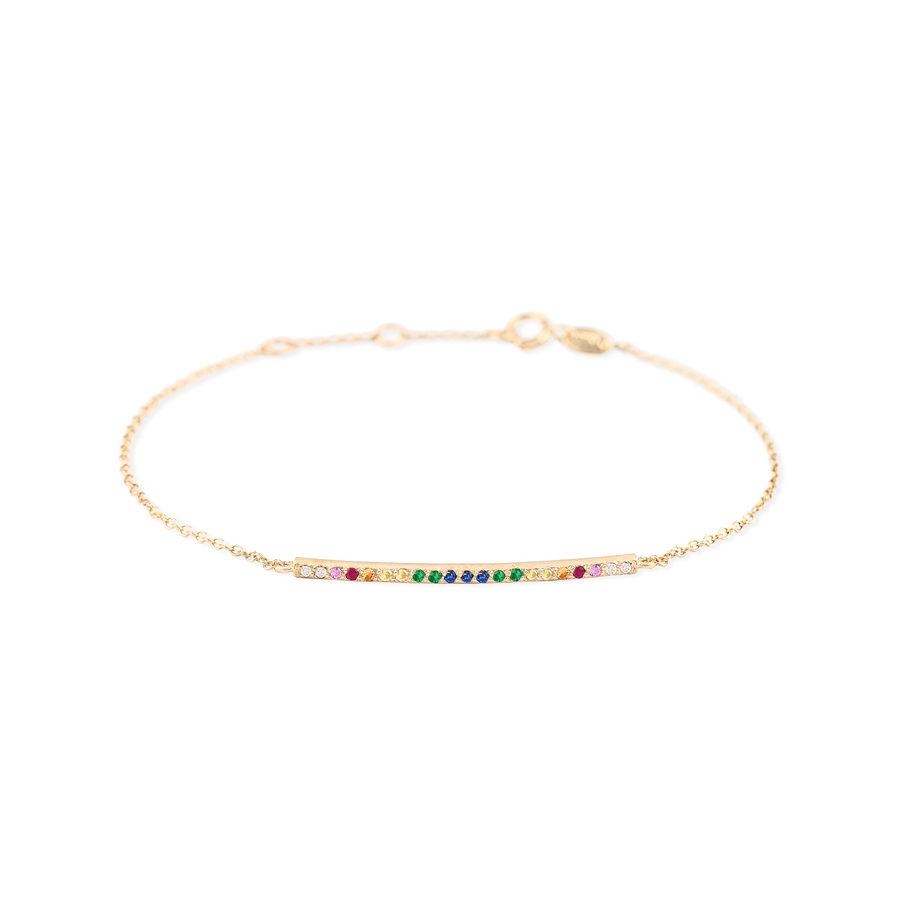 Eikosi Dyo Rainbow Tube Bracelet EDB253A
