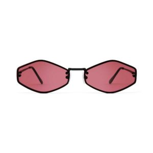 WE ARE EYES Theta Sunglasses with Pink Lenses