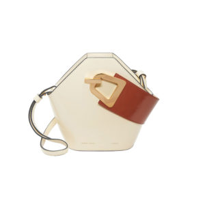 Danse Lente Mini Johnny Dove Rosewood Handbag DL.P1908