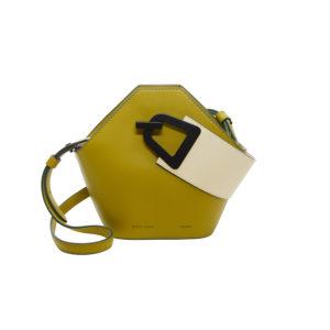 Danse Lente Mini Johnny Olive/Dove Handbag DL.P1908