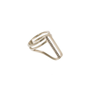 Polina Ellis Minotavros Gold Ring PSMTCL5G18D