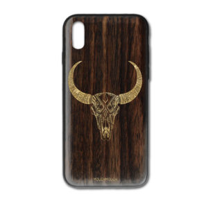 Mouch Mouch Taurus i-Phone X Gold Paint Case CMOUCH.X.083PADG
